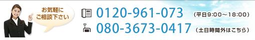 0120-961-073 080-3673-0417