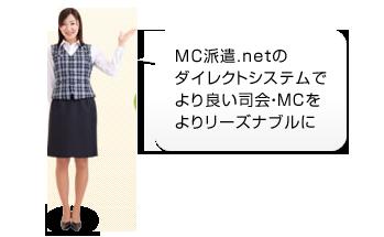 MC派遣.netのダイレクトシステムでより良い司会・MCをよりリーズナブルに
